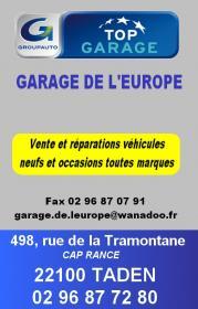 Garage de l europe 1