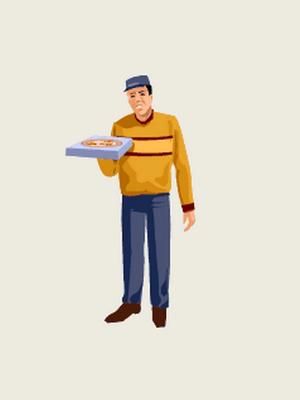 Livraision pizzas, repas